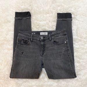 DL1961 x Jessica Alba distressed jeans